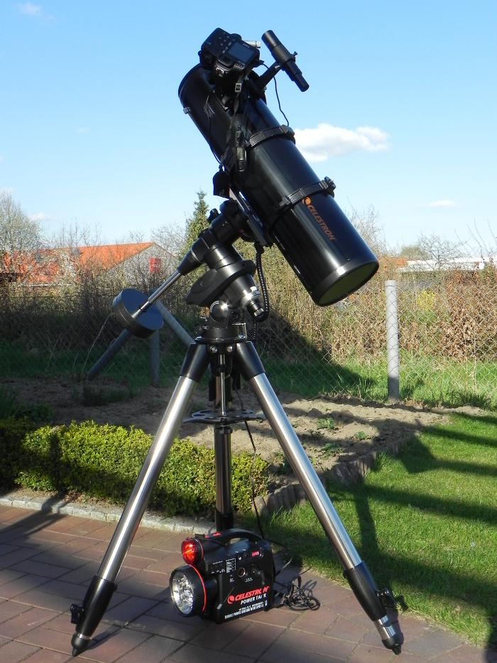 Mein 6''Celestron-Reflektor