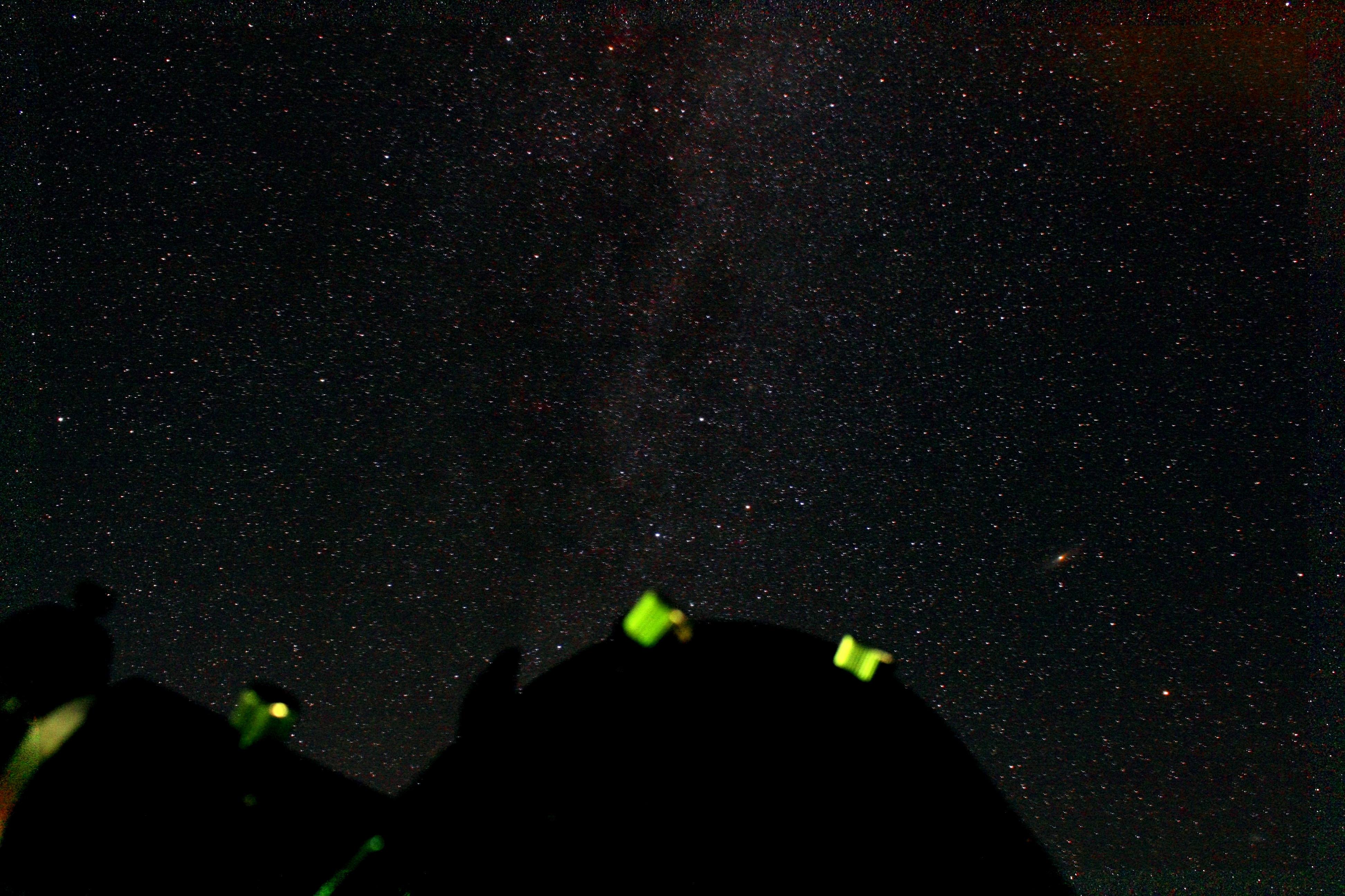 Die Milchstraße in der Cassiopeia