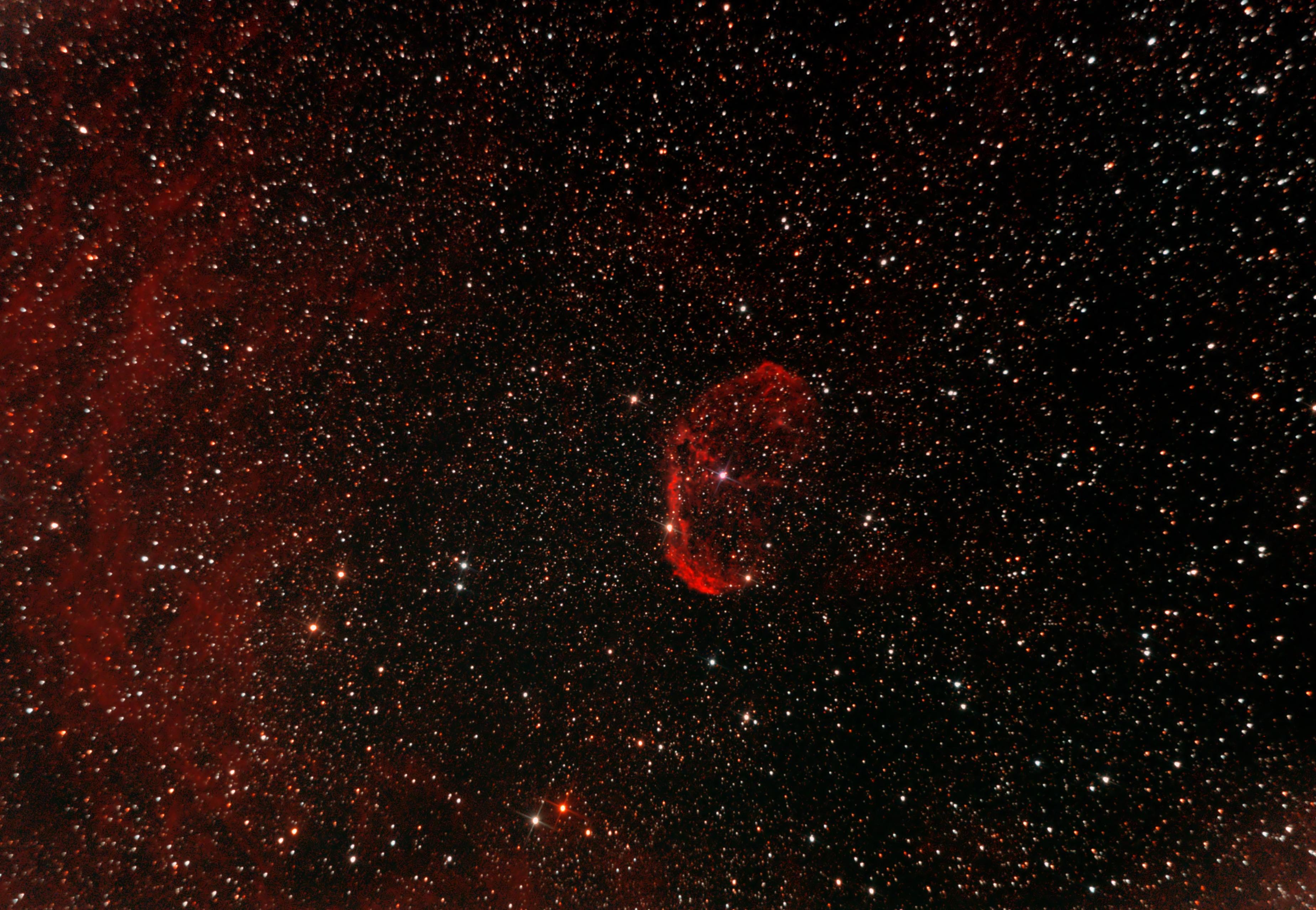 NGC 6888: Der Crescentnebel (Sichelnebel)