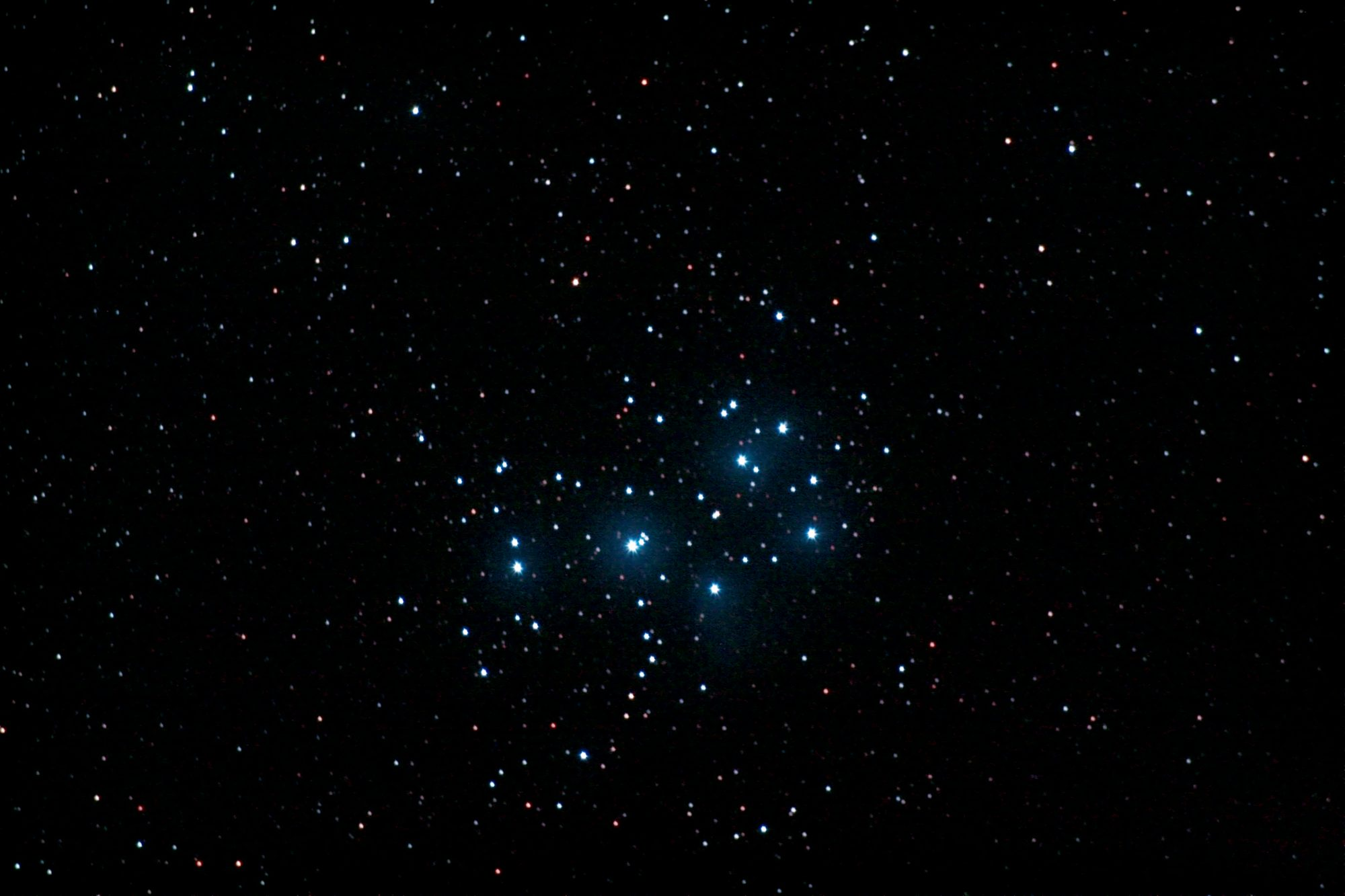 Offener Sternhaufen M45