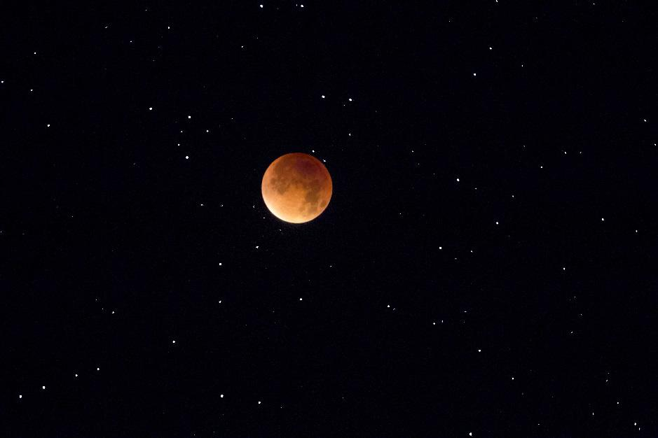 Mondfinsternis, totale Phase