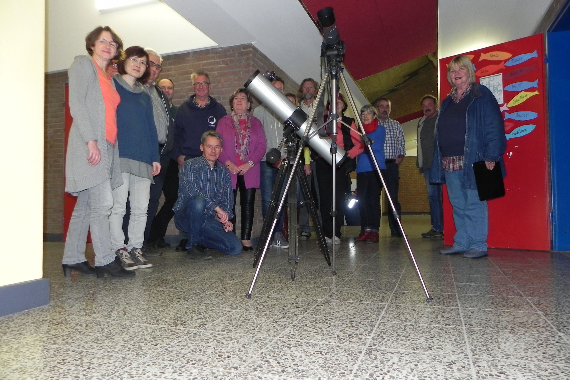 Teilnehmer VHS-Kurs 'Astronomie' 2016-II
