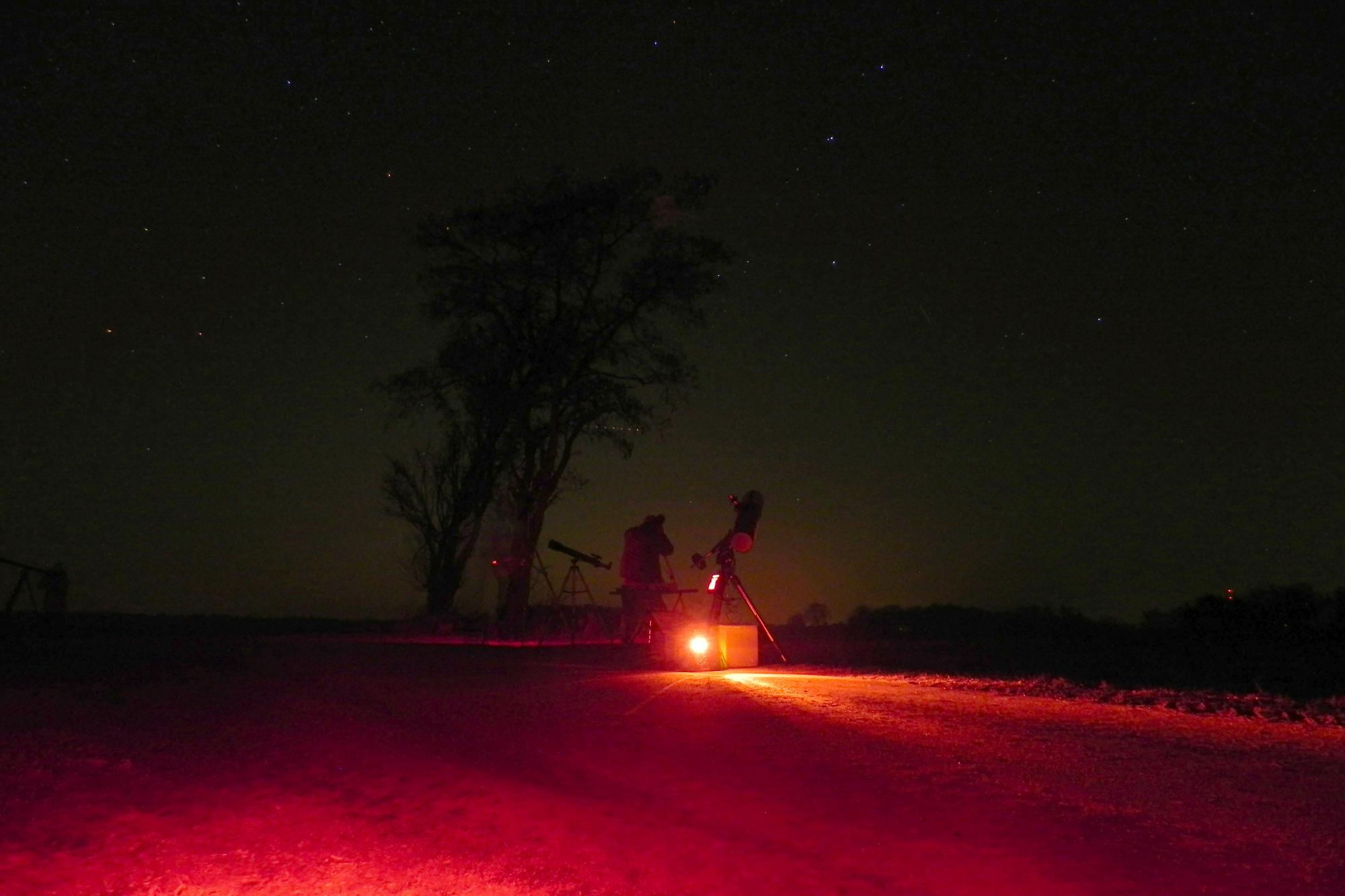 Beobachter des Sternenhimmels