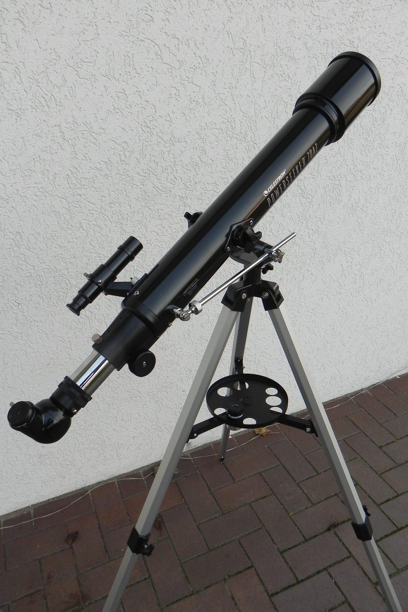 Unser Teleskop-Baby