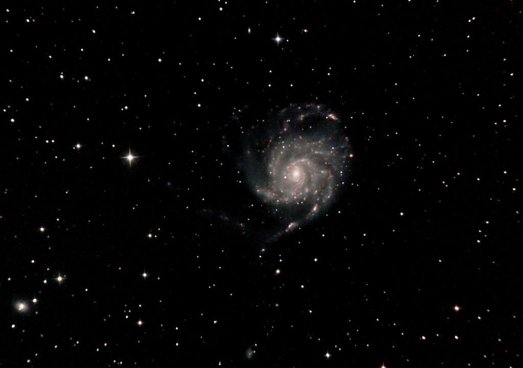 Feuerradgalaxie M 101