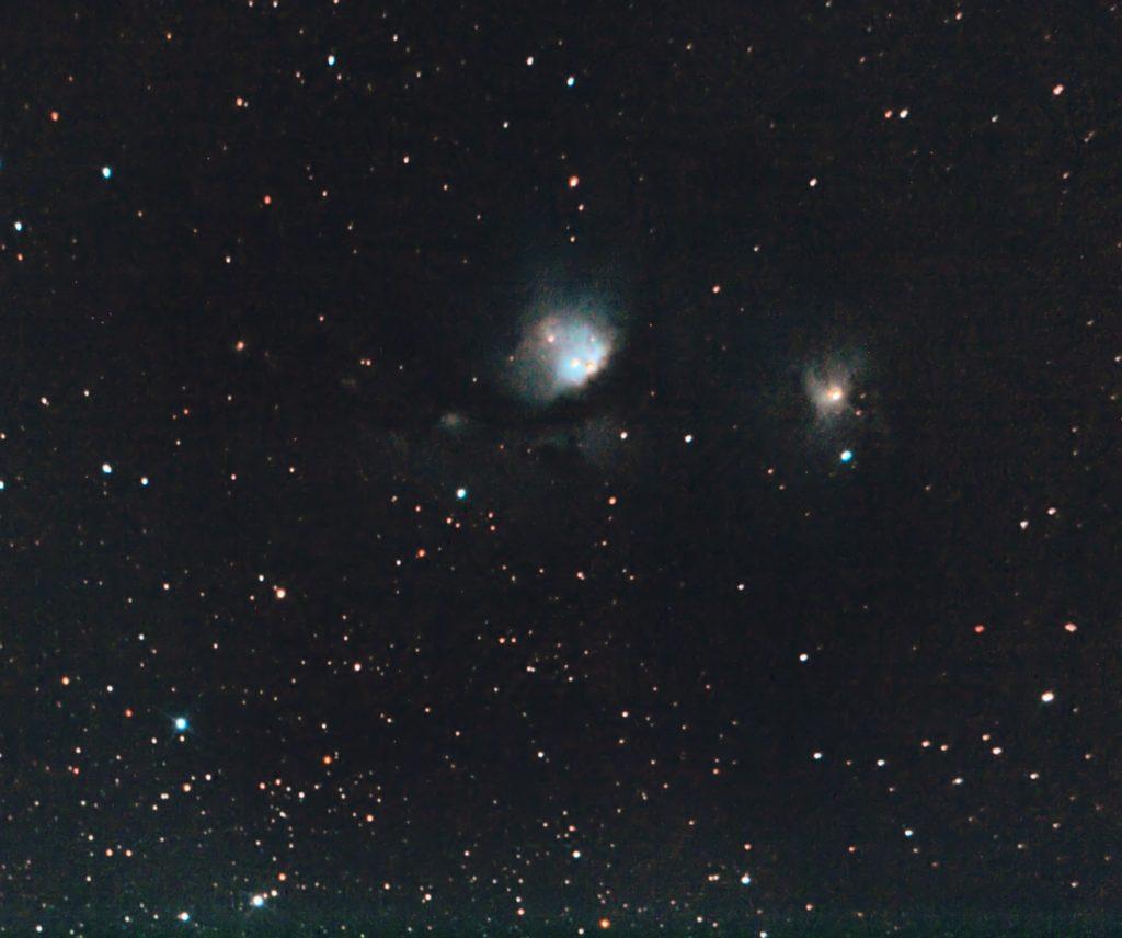 Reflexionsnebel M78