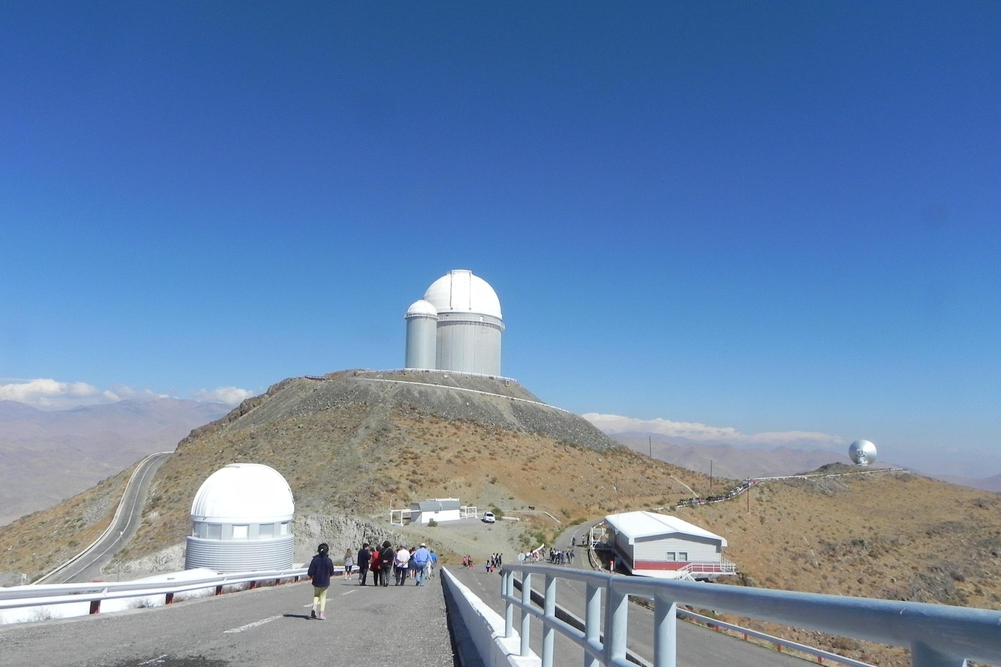 Kuppel des la Silla Teleskops