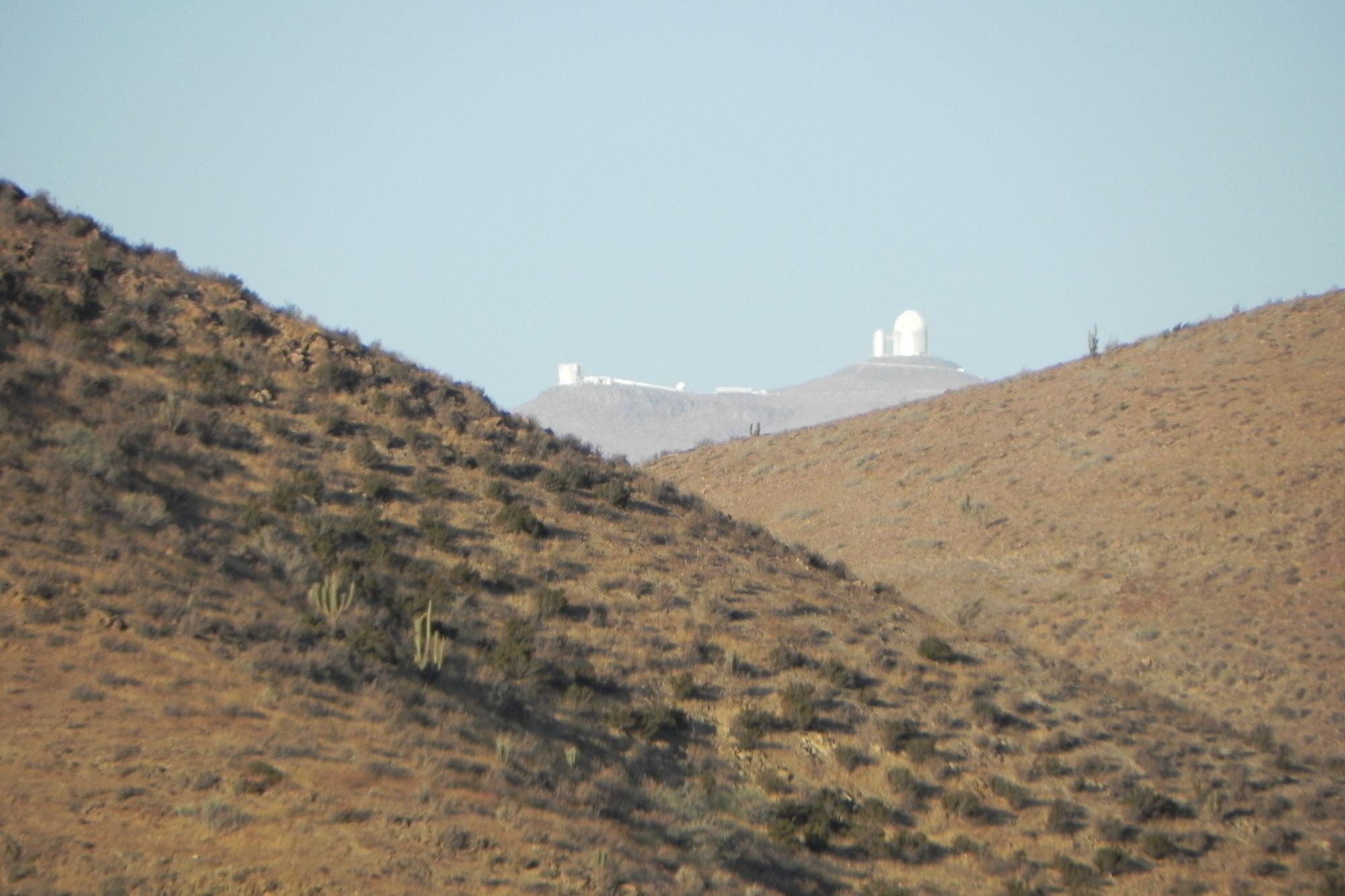 Blick auf das La Silla Areal
