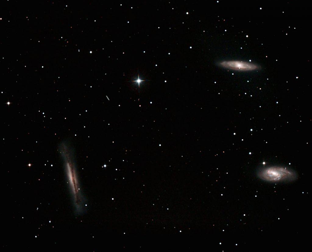 Das Leo-Galaxien-Triplett
