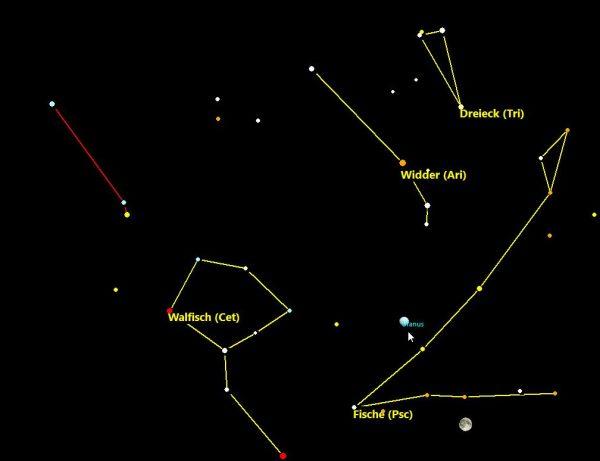 Opposition des Planeten Uranus