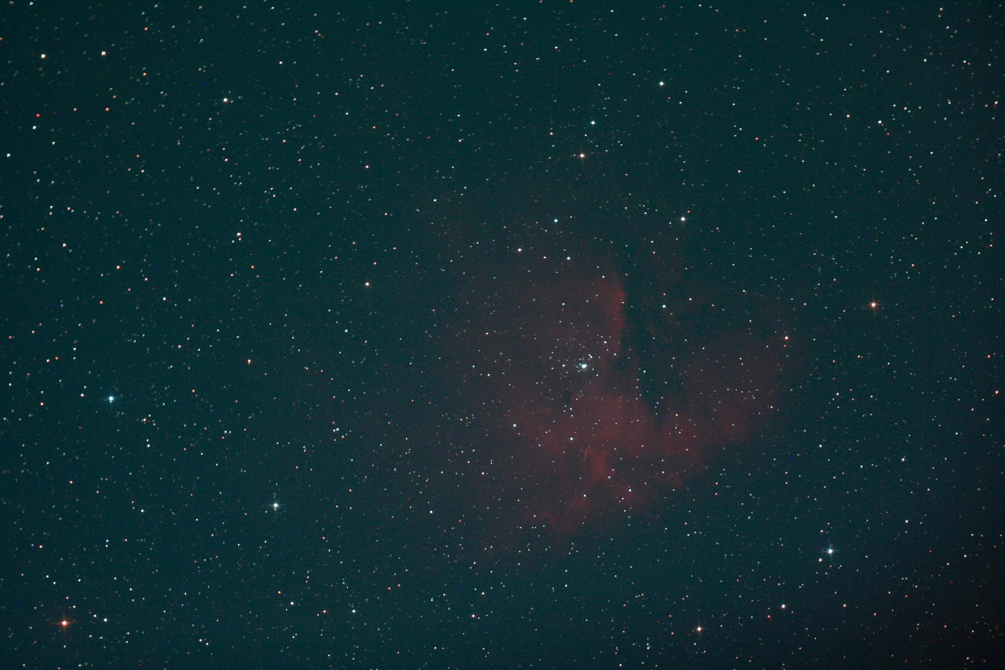 Einzelaufnahme Pacman-Nebel