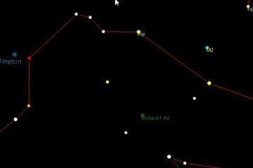 Tierkreis-Sternbild Wassermann