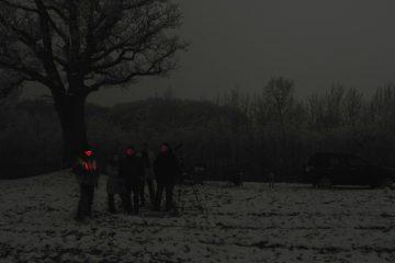 Gruppe von Astrofotografen
