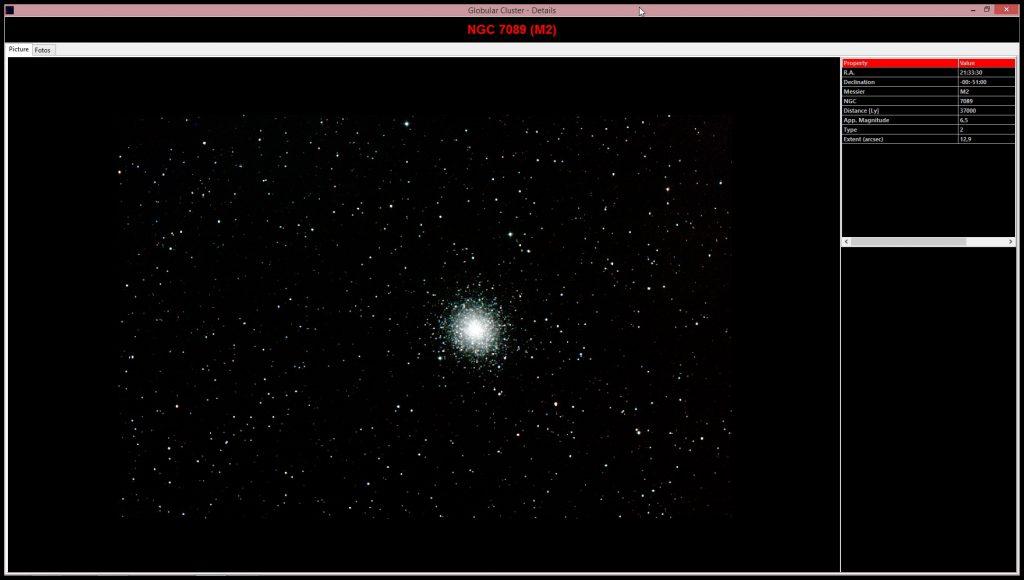 Integrierte Astrofotos von eindrucksvollen astronomischen Objekten, die dem Amateurastronomen zugänglich sind  Integrated astronomical images of the most famous objects which are available for amateur astronomers
