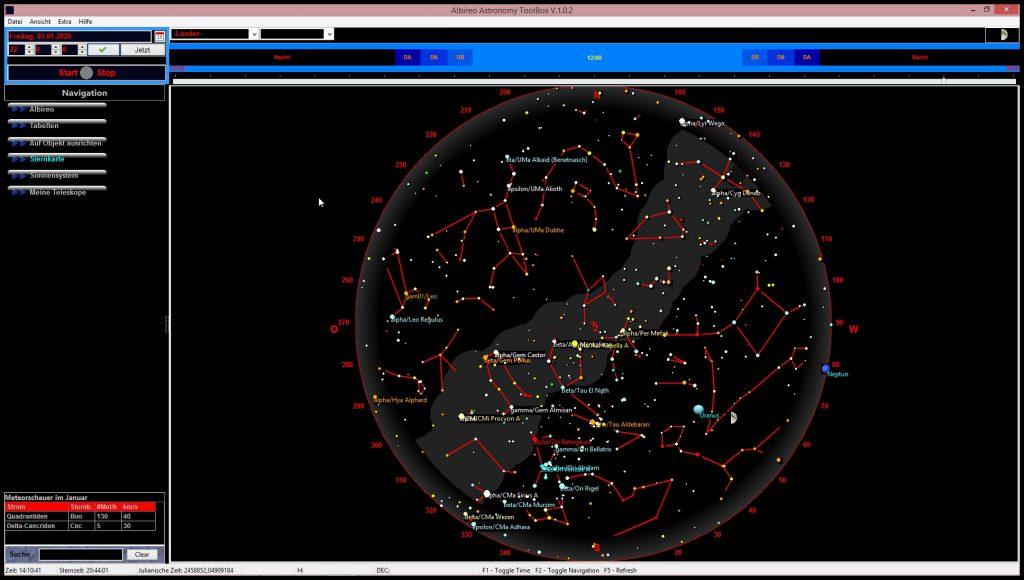 Albireo Astronomy Toolbox