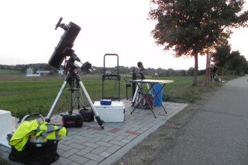 Teleskopaufbau